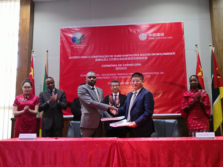 Social Housing Project of 35,000 House in Mozambique Signed